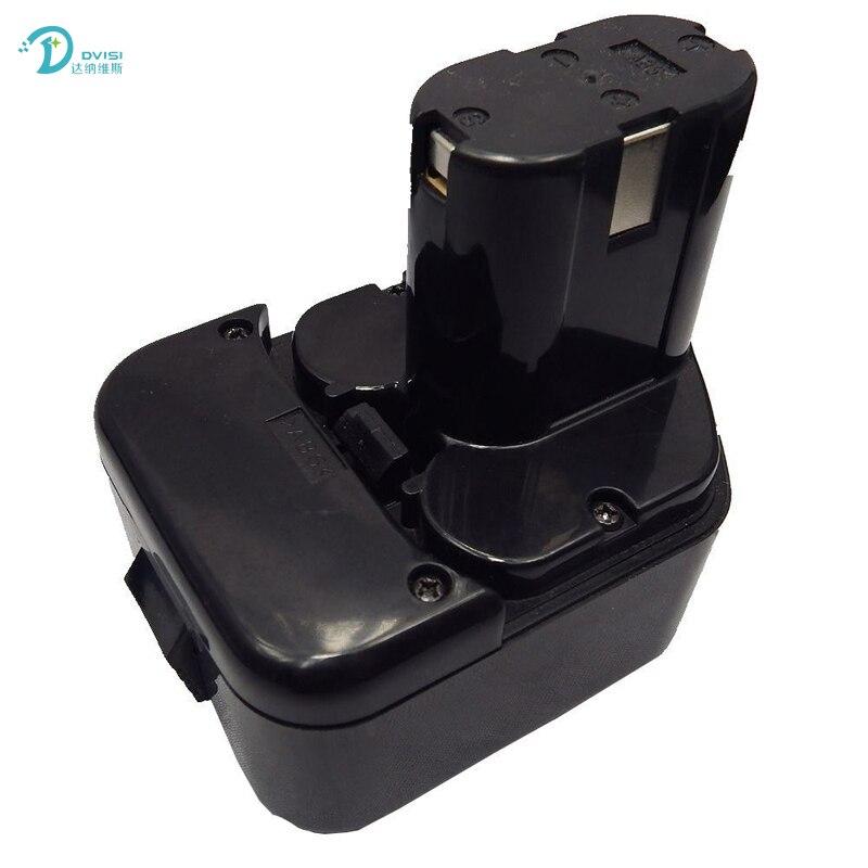 DVISI EB1214S Battery 12V 3300mAh NI-MH for Hitachi C5D DS12DVF3 EB1212S R 9D DS12DVF DS12DVB2 DS12DM2 12DM DH15DV CL13D CD4D