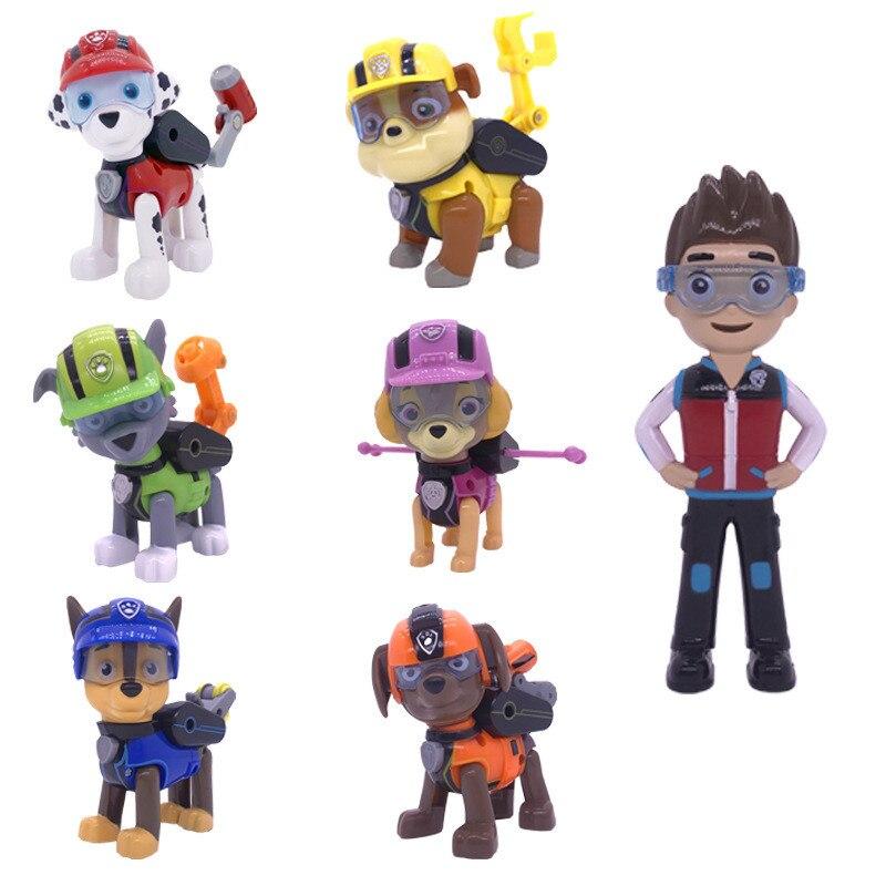 Paw patrol Dog patrulla canina Toys Anime Figurine Car
