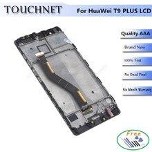 Calidad AAA 1920×1080 Pixel LCD P9 Más Pantalla LCD de Pantalla Para Huawei Smartphone