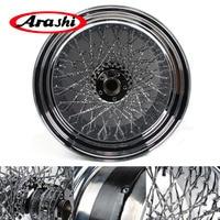 Arashi For HARLEY DAVIDSION 18x10.5 inch Chrome Rear Wheel Rim Modification Motorcycle Wheel Rims