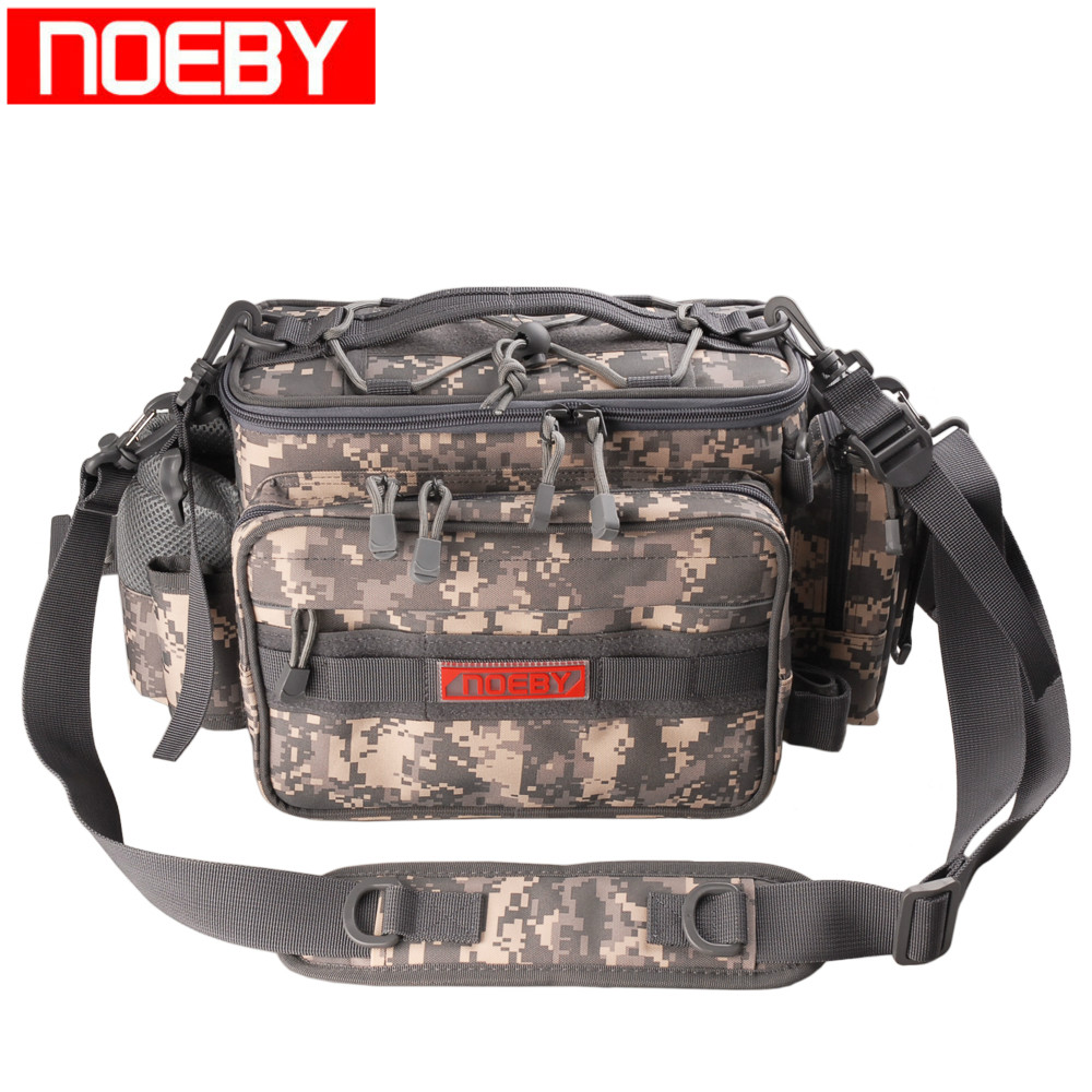 NOEBY Fishing Bags Waterproof 27 5 11 21cm Multi purpose FishTackle Backpack Waist Bag Bolsa Pesca