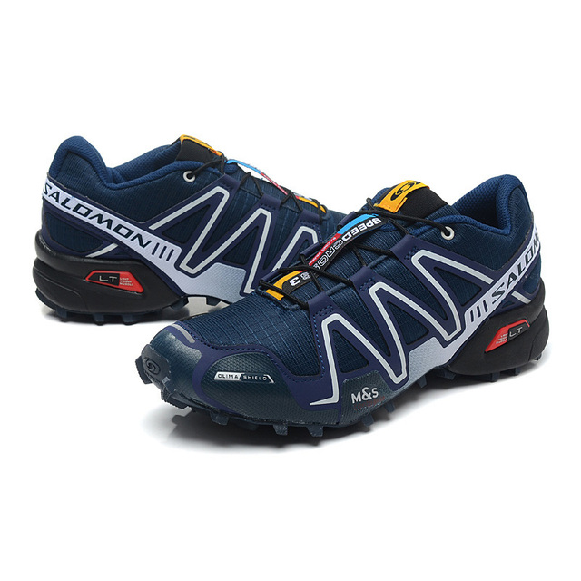Original 2018 Salomon Men's Speed Cross 3 CS III light sneaker For Outdoor Running Jogging Shoes Mens Walking Shoes eur 40 46 in Running Shoes from