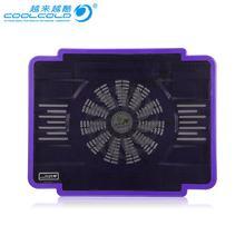 COOLCOLD охлаждающая подставка для ноутбука Кулер для ноутбука светильник-вентилятор USB подставка для ноутбука скользящая подставка кулер
