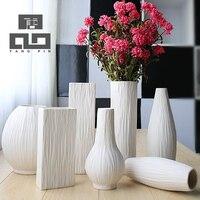 Tangpin thời trang châu âu ceramic flower vase, sứ lọ trang trí nội thất, vaso cho trang trí nội thất hiện đại, tabletop vase