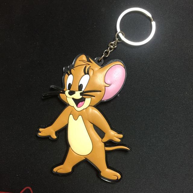 Брелок резиновый Том и Джерри мышь ПВХ 1