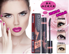 Wholesale and retail FLAMINGO New Brush Magic comb solid dense mascara Long Lash Mascara curl lashes купить недорого в Москве