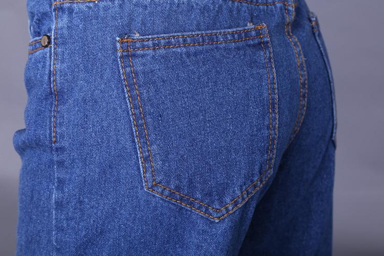 ... 2015 Newest Summer Jeans Pants Plus Size Women Loose Pants Fashion  Cropped Trousers Pants Capris Wide b809d17a4752