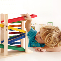 Baby Toys Baby Kids Educational Toys Abacus Toy Building Blocks Children Slippery Car Patten Saft Free