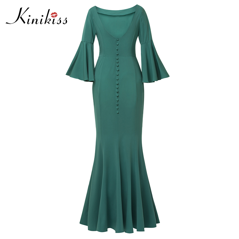 Kinikiss Sexy Women Club Maxi Dress trumpet Bandage Long Dress Party Multiway Bridesmaid Convertible Robe Longue Femme 2018