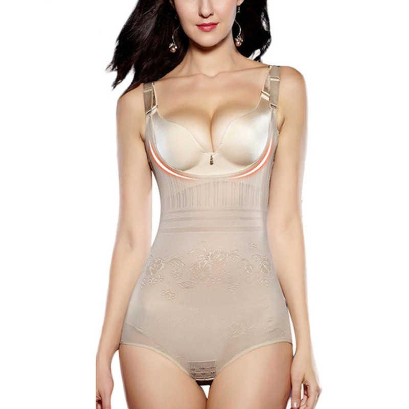 700d3592aee Women s Slimming Underwear Bodysuit Hot Body Shaper Waist Shaper Shapewear  Postpartum Recovery Slimming Shaper