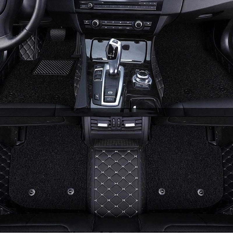 car floor mat carpet rug ground mats for Hyundai mistra verna santa fe avante celesta creta solaris 2018 2017 2016 2015 2014