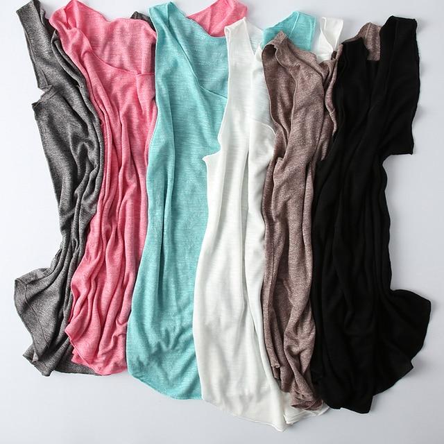 100% Cotton Cơ Bản T-Shirt 2019 Mùa Hè Thường Không Tay Đầu Màu Đen Màu Xanh Lá Cây Màu Đỏ Trắng Màu Xanh Undershirts Chất Lượng Cao Đáy Áo Sơ Mi