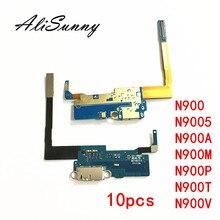 AliSunny 10pcs Poort Opladen Flex Kabel voor SamSung Note 3 N900 N9005 N900A N900M N900P N900T N900V Lader Dock connector USB