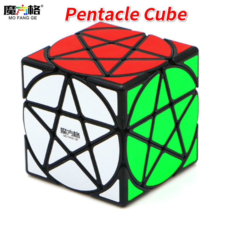 Qiyi Mofangge Pentacle Cube Magic Cube Black or Stickerless Speed CubePuzzle Star Twist Cubes Toys For Children KidsQiyi Mofangge Pentacle Cube Magic Cube Black or Stickerless Speed CubePuzzle Star Twist Cubes Toys For Children Kids