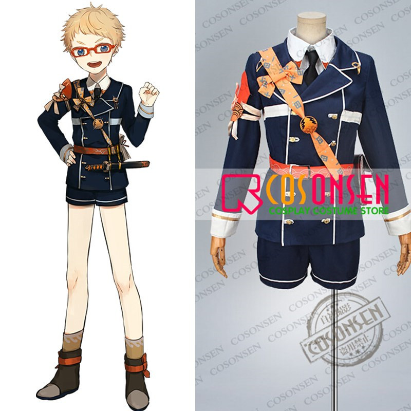 COSPLAYONSEN Touken Ranbu Hakata Toushirou Cosplay Costume Full Set Any Size Custom Made