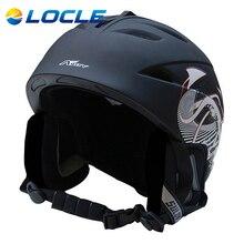 LOCLE Hot Sale Ski Helmet Breathable Ultralight Skiing Helmet 10 Color CE Certification Ski Snowboard Skateboard Helmet
