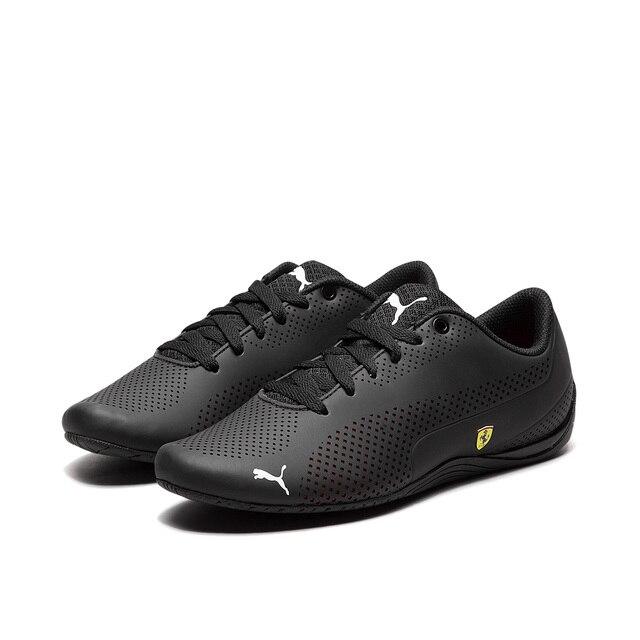 1793bf5f4e8b2 US $39.89 5% OFF 2019 New Arrival Original Puma Men Shoes Badminton Shoe  Future SF Drift Cat 5 Ultra Walking/Racer Shoes Genuine Leather Black-in ...