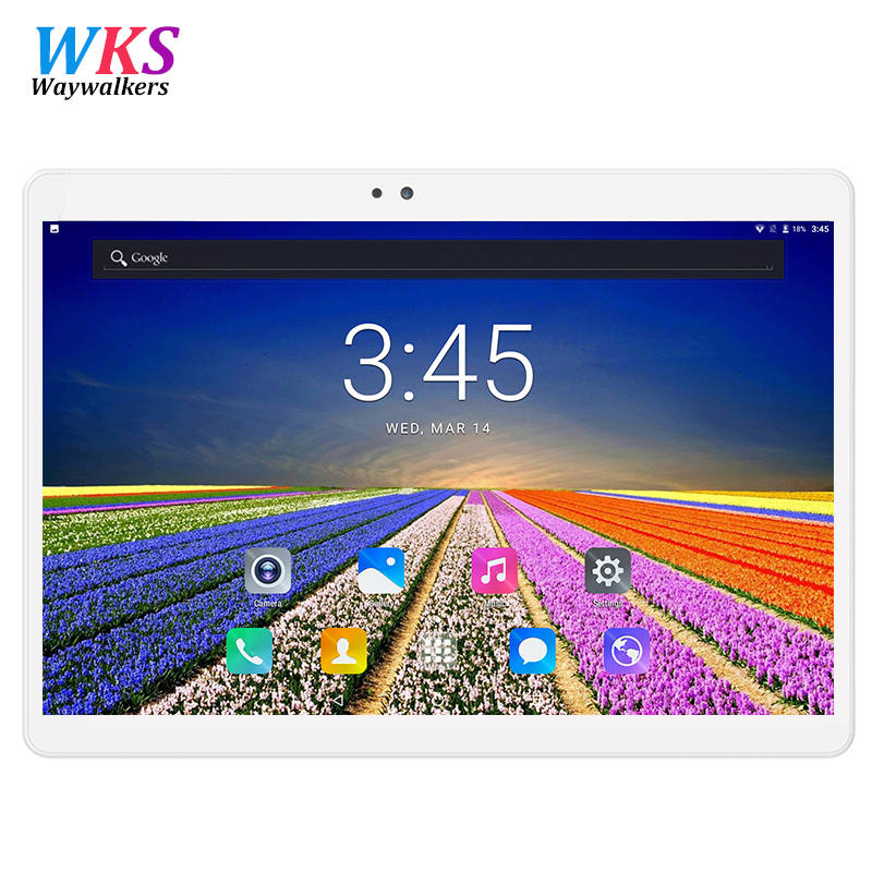 Official 10.1 Inch Android 7.0 Quad Core 4GB+32GB 1280*800 Dual Cameras 3G LTE Tablets Mobile Free Shipping Tactile Tablet Pc lnmbbs free shipping metal new off discount tablet android 7 0 10 1 inch tablets 1 gb 16 gb 8 core dual cameras 2 sims 3g kid