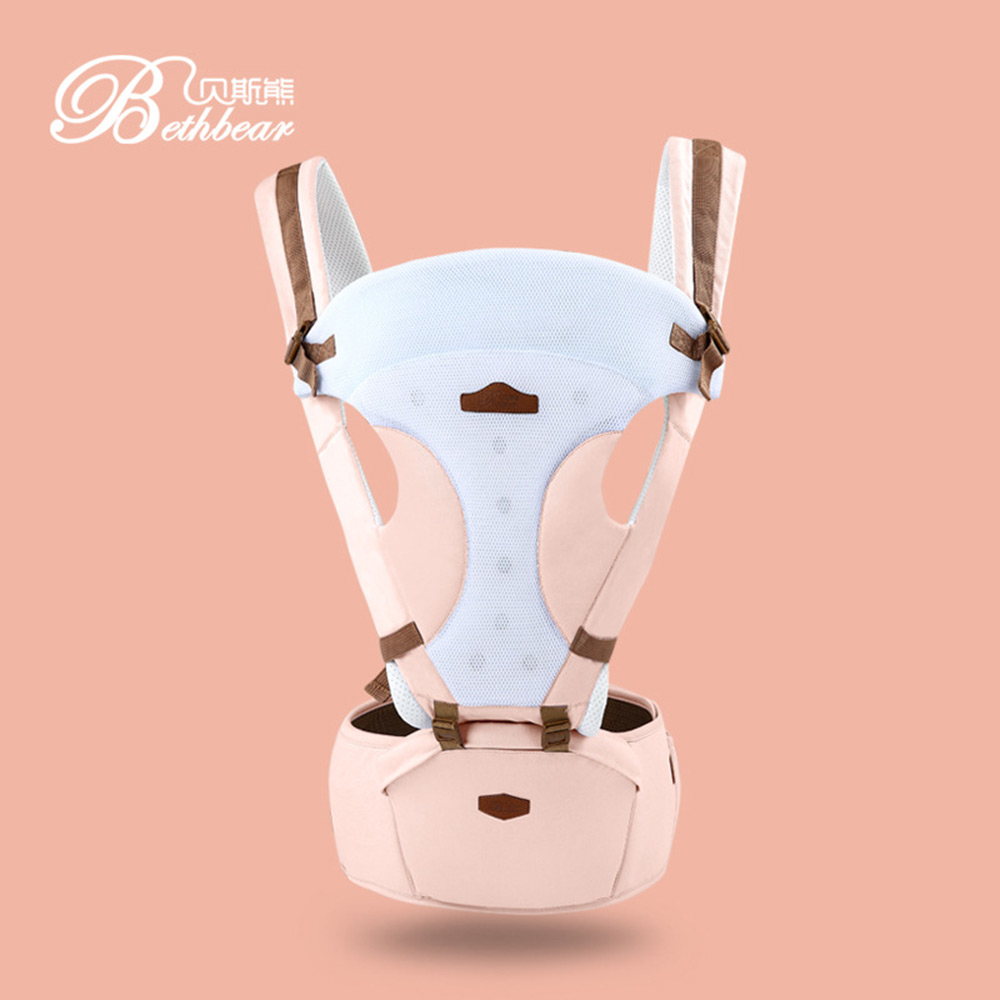 Bethbear Comfortable Breathable Multifunction Carrier Infant Backpack Baby Hip Seat Waist Stool waterproof plastic enclosure case junction box 265mm x 185 mm x 115 mm l15