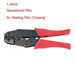 Image 5 - Haute qualité Film chauffant Terminal sertissage pince spécialisée électrique infrarouge chauffage par le sol Film pince pince