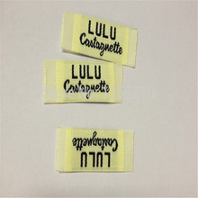 Customized Garment Woven Label High Density