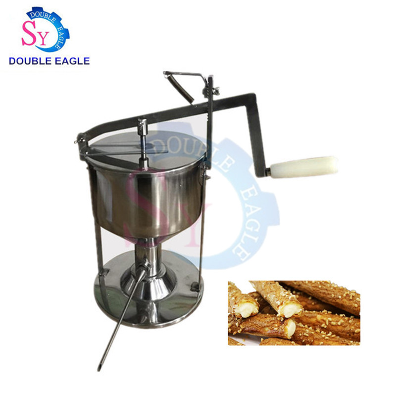 Wholesale Price Commercial Manual Cream Puff Filling Machine/hand Stainless Steel Bread Jam Injection Machine