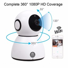 Ip camera wifi CCTV Home security 3.6mm 1080P HD Cloud Storage P2P IR Night Vision 2 Way Audio surveillance camera baby monitor