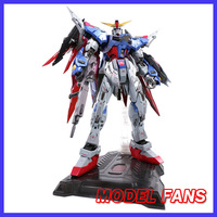 MODEL FANS INSTOCK hotstudio Seed Destiny Gundam metal build mb PG 1/60 destiny gundam contain led light toy action figure