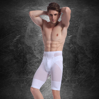 Tummy Control Men High Waist Compression Underwear