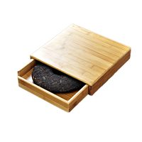 Single Drawer Type Bamboo Tea Tray Tea Kung Fu Tea Accessories Branch In Drawer Style Pu