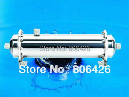 1500л/ч очиститель воды под раковиной/водопроводной фильтр для воды/УФ очистка воды с 0,01 микрон УФ мемебраном + КДФ-фильтр (102 мм диаметр)