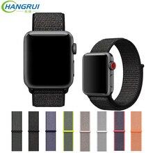 Hangrui Milanese Pulseira para Apple Assistir cinta Faixa de Relógio Pulseira para Apple 42mm 38mm Cinto de Aço Inoxidável para Iwatch