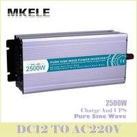 High Quality MKP2500 122 C 2500W Pure Sine Wave Car Inverter 12v 220v Power Design With