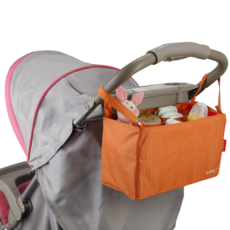 Organizer Nappy-Changing-Bag Maternity-Handbags Stroller-Accessories Bottle Storage Diapers