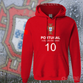 Portugal nation team hoodies men sweatshirt sweat suit hip hop streetwear socceres jersey footballer tracksuit Portuguese flag