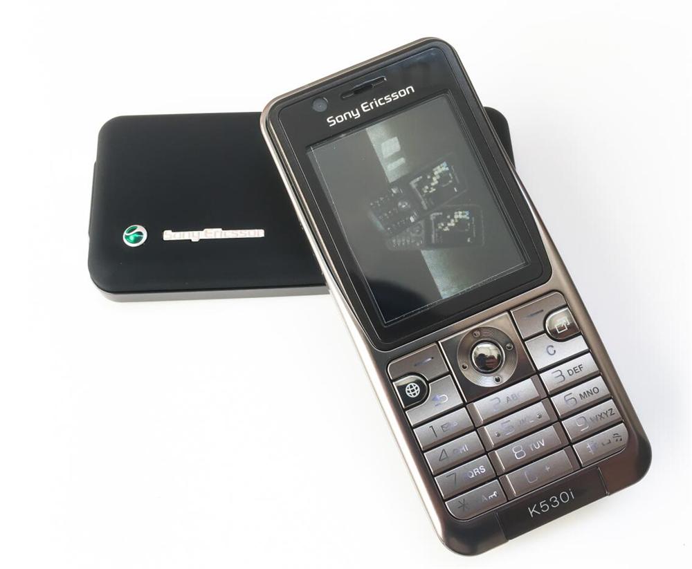 Refurbished phone Original Sony Ericsson K530 Unlocked Cell Phone 2MP Camera Bluetooth red 5