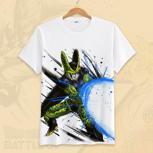 DRAGON BALL THEMED T-SHIRT (21 VARIAN)