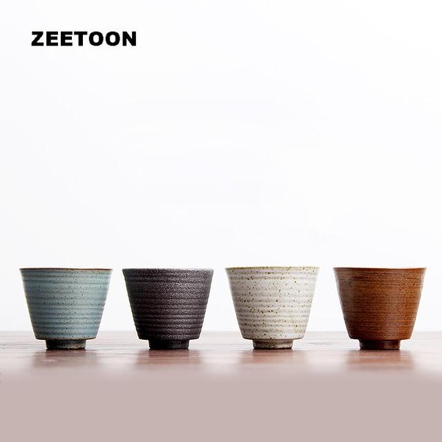Japanese Kung Fu Tea Set Ceramic Cups Handmade Kiln Change Co ...