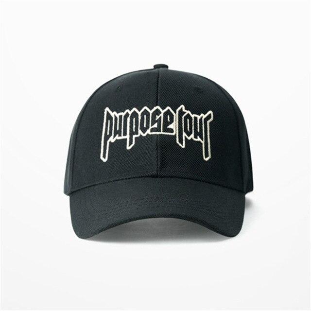 VORON New Purpose Tour Baseball Cap Embroidered Vintage Retro Justin Bieber  Hat High Street Dark Tide Caps For Women and Men 926227d2ad83