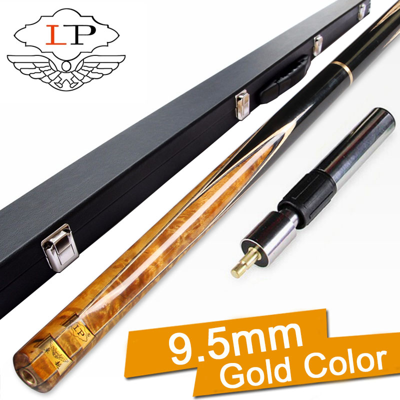 LP ZHUOYUE Cue Snooker 9 5mm 10mm Tips 3 4 Snooker Cues Case Set China Color