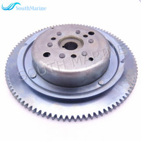 Outboard Engine T36 04000500W Electric Start Flywheel Rotor Assy for Parsun HDX 2 Stroke T36 T40J Boat Motor