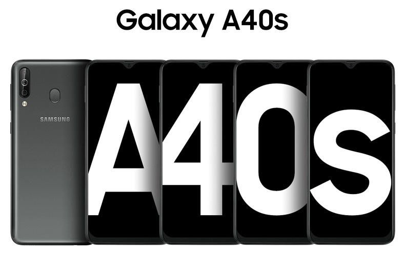 Samsung Galaxy A40s AMOLED Infinity Display