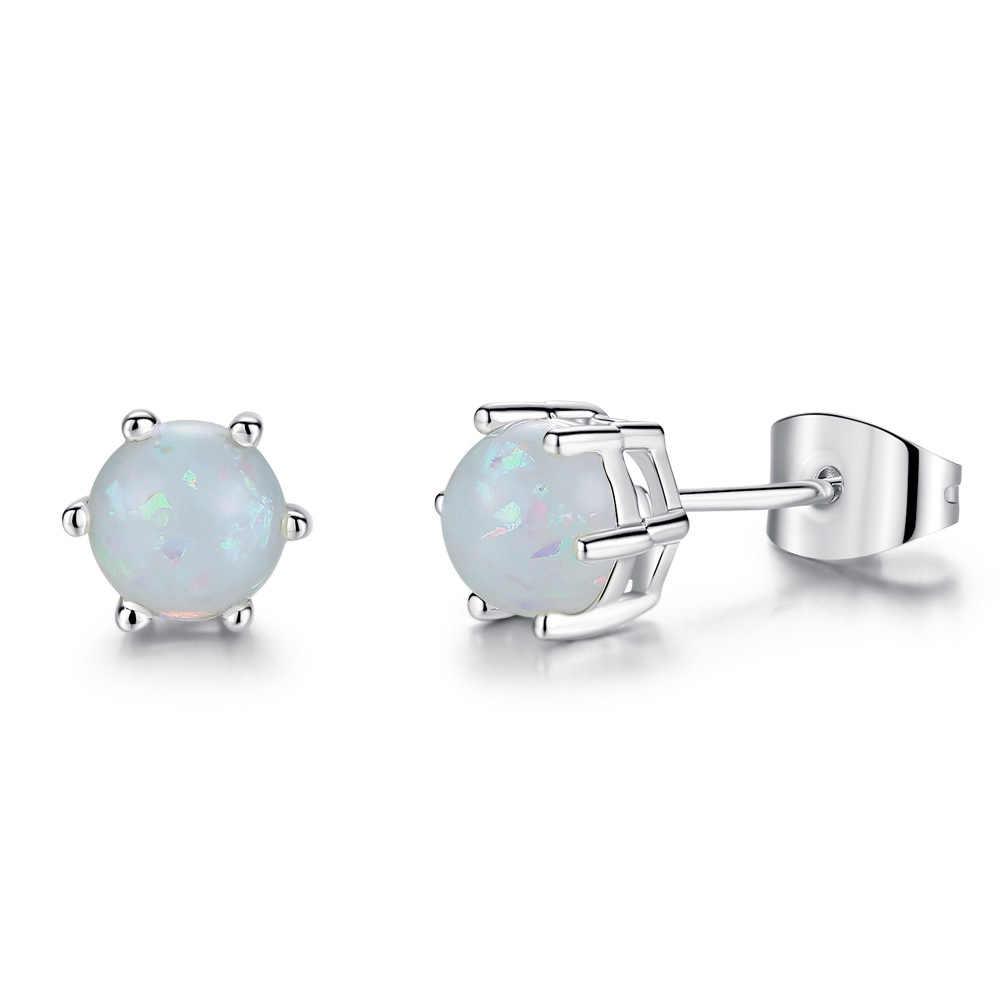 Heißer Verkauf Opal Schmuck Sets Für Frau Anhänger Halsketten Halsband Drop Ohrringe & Ring Böhmen Hochzeit Schmuck Geschenke dropshopping