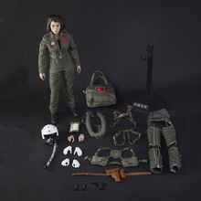 Collectible 1/6 Scale FS-73006 1:6 Chinese Air Force Pilot Action Figure Toy  Doll Toys Gift