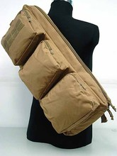 "Nueva Táctica 24 ""MP5 Rifle Gear Hombro Sling Bag Backpack Negro"