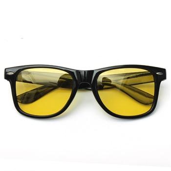 Lesov الرجال نظارات للرؤية الليلية يوم نظارات المرأة المضادة للوهج HD الرؤية الاستقطاب عدسة الأصفر للجنسين الدراجات القيادة نظارات 1