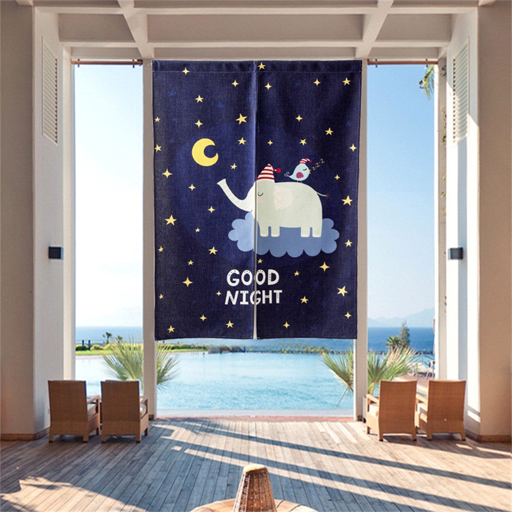 Door Curtains Japan Style Curtains For Living Room Kitchen