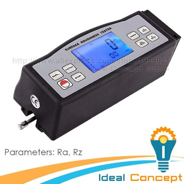 Multi-parameter Digital Portable Surface Roughness Meter Gauge Metric Imperial Tester Ra Rz