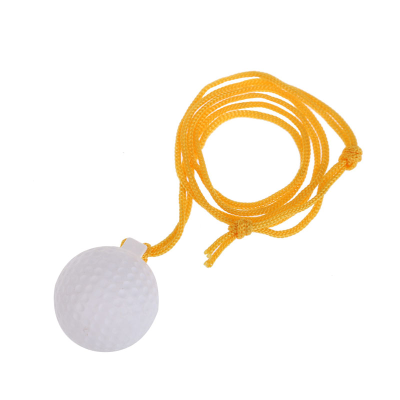 2019 Wholesale Portable Durable Solid Golf Swing Practice Ball With String Golf Training Aids Accessories Gift For Golfer