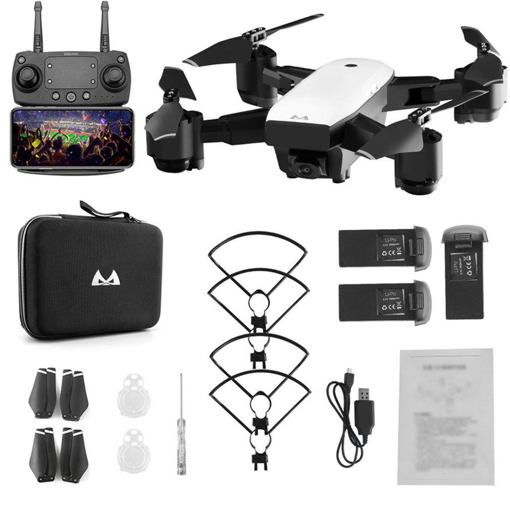 SMRC S20 grand Angle 1080 P FPV caméra Drone pliable 6 axes RC quadrirotor avec GPS 360 'flip Altitude tenir Drone trois Batteries